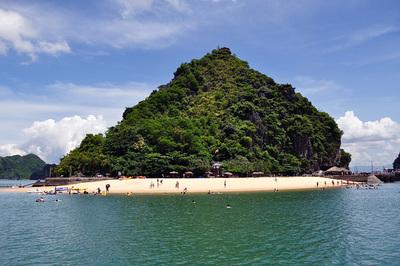đảo titop vịnh hạ long