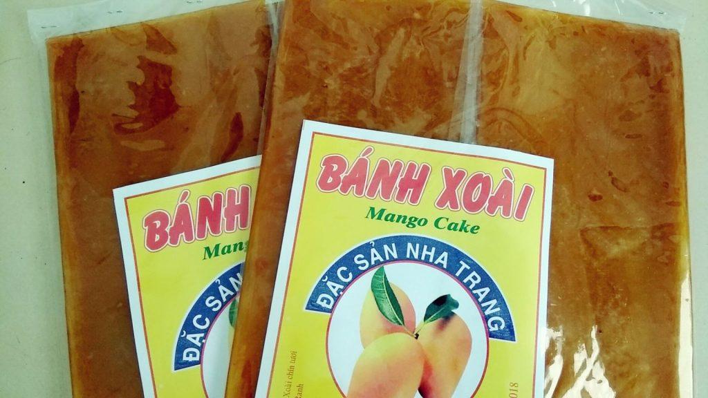 Bánh xoài Nha Trang du khách có thể mua về làm quà