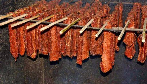 Thịt xông khói sapa