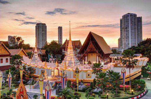 Du lịch Thái Lan mùa hè với thời tiết khá dễ chịu